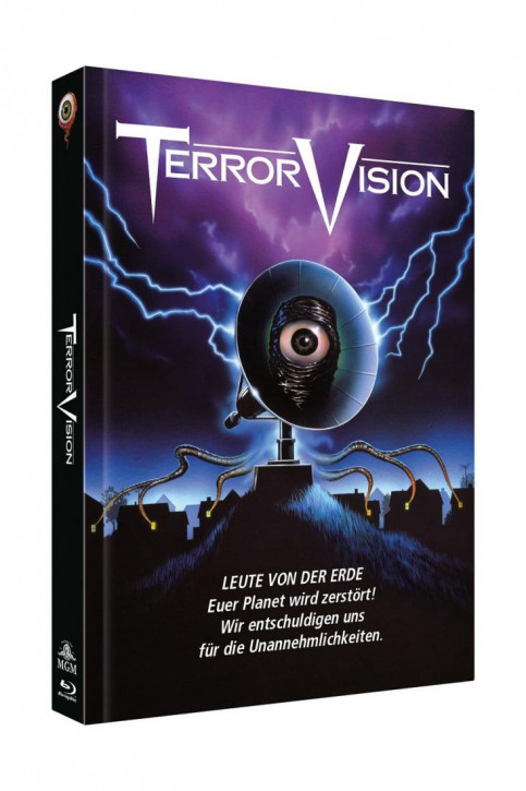 TerrorVision - Limited Collectors Edition Mediabook - Cover A [Blu-ray+DVD]