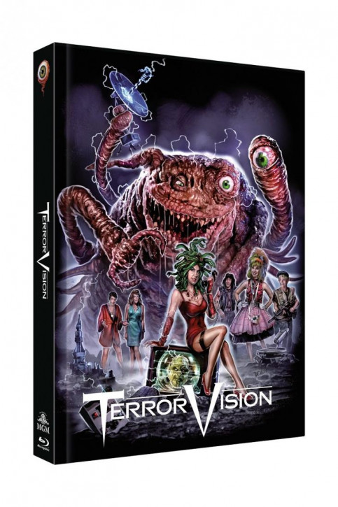 TerrorVision - Limited Collectors Edition Mediabook - Cover B [Blu-ray+DVD]