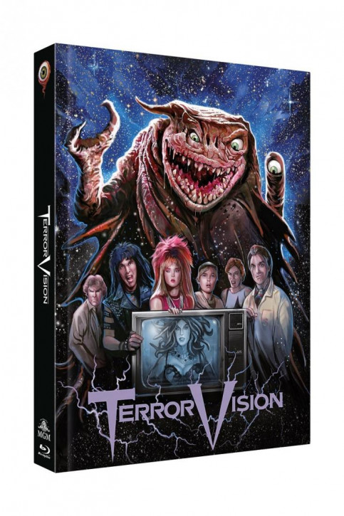 TerrorVision - Limited Collectors Edition Mediabook - Cover C [Blu-ray+DVD]
