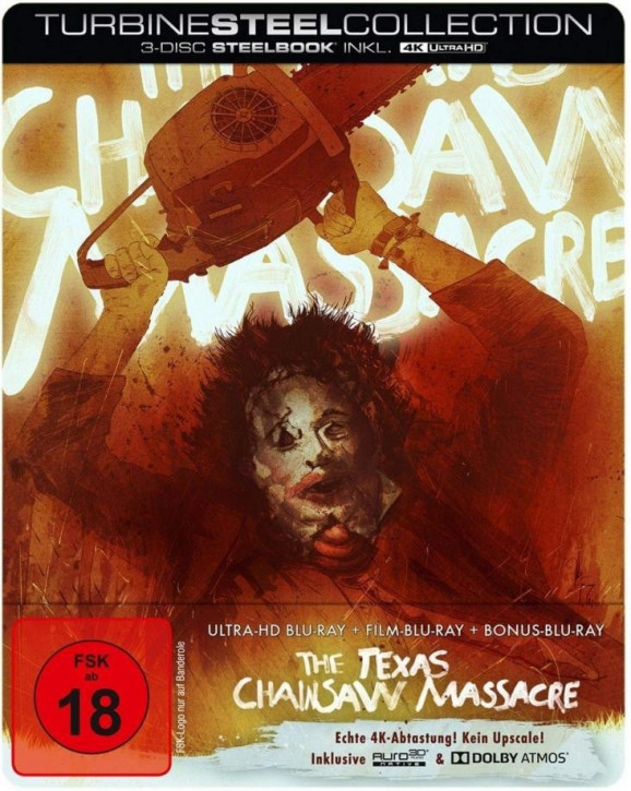 The Texas Chainsaw Massacre - Limited Steelbook Edition [4K UHD Blu-ray]