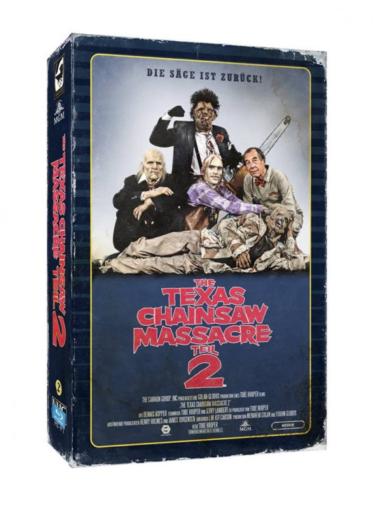 The Texas Chainsaw Massacre 2 - Limited Collectors Edition im VHS-Design [Blu-ray]