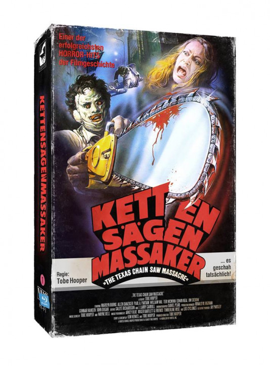 The Texas Chainsaw Massacre - Limited Collectors Edition im VHS-Design [Blu-ray]