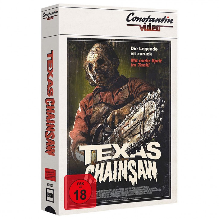 Texas Chainsaw - Limited Collectors Edition im VHS-Design [Blu-ray]