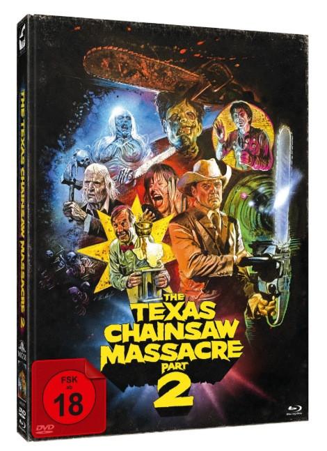 The Texas Chainsaw Massacre 2 - Limitied Mediabook [Blu-ray+DVD]
