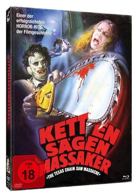 The Texas Chainsaw Massacre - Limitied Mediabook [Blu-ray+DVD]