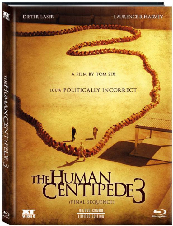 The Human Centipede 3 - Limited Collector's Edition - Cover A [Blu-ray+DVD]