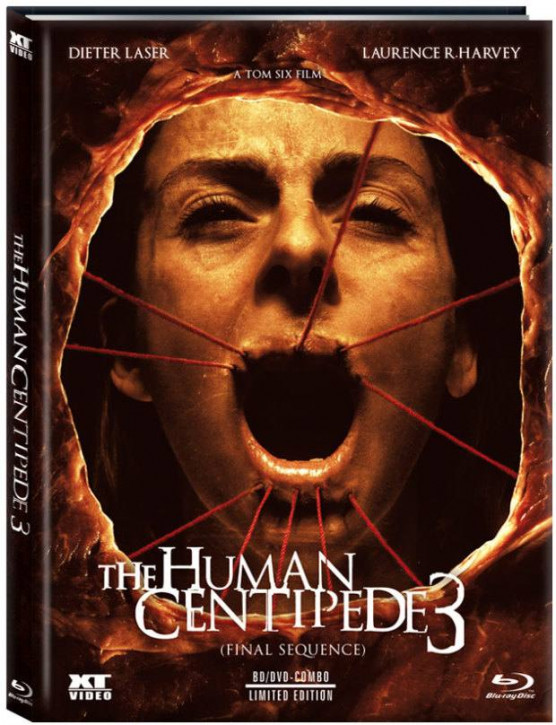 The Human Centipede 3 - Limited Collector's Edition - Cover B [Blu-ray+DVD]