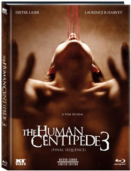 The Human Centipede 3 - Limited Collector's Edition - Cover C [Blu-ray+DVD]
