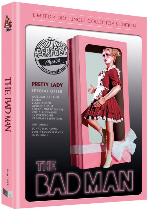The Bad Man - Limited Collectors Edition - Cover B [Blu-ray+DVD]