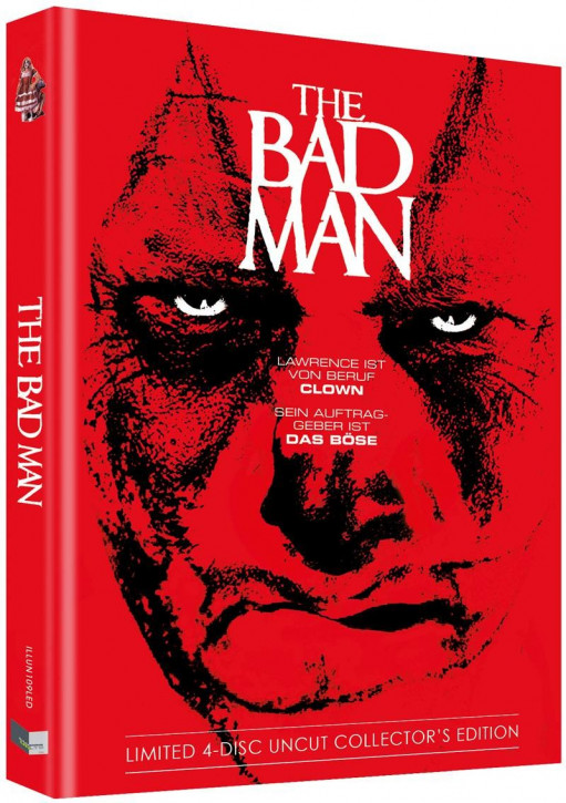 The Bad Man - Limited Collectors Edition - Cover D [Blu-ray+DVD]