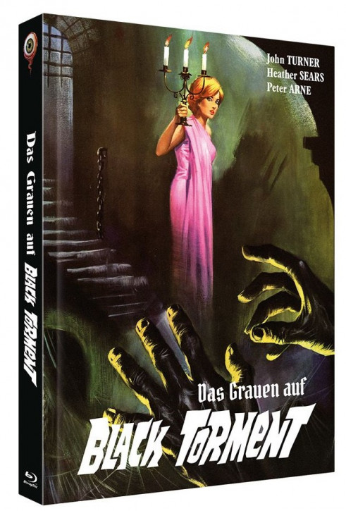 Das Grauen auf Black Torment - Limited Collectors Edition - Cover C [Blu-ray+DVD]