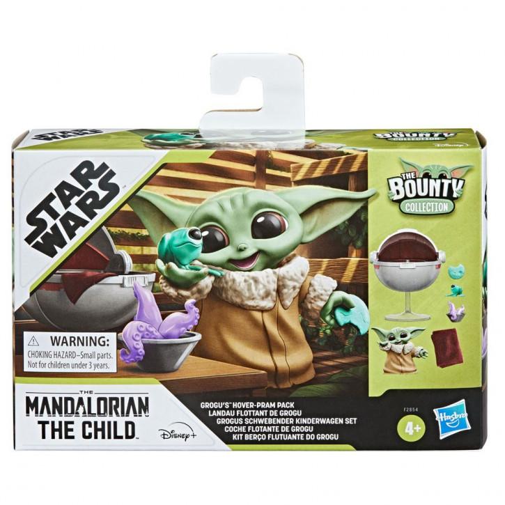 Star Wars: Mandalorian The Child - The Bounty Collection Pack Grogus schwebender Kinderwagen