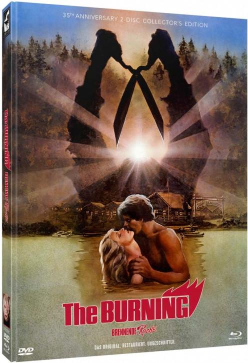 The Burning - Mediabook - Cover C [Blu-ray+DVD]