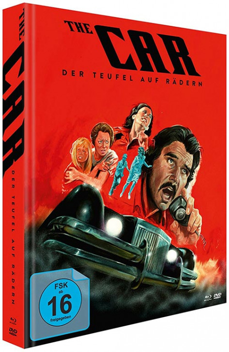 Der Teufel auf Rädern - The Car - Limited Mediabook Edition [Blu-ray+DVD]