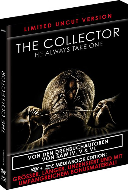 The Collector - Limited Black Book Edition [Blu-ray+DVD]