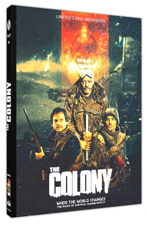 The Colony - Limited Mediabook Edition - Cover B [Blu-ray+DVD]