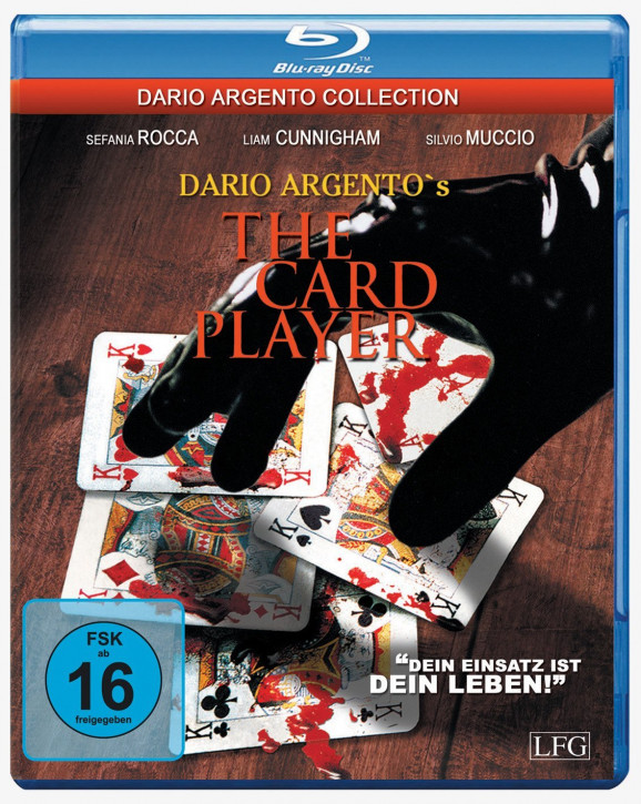 Dario Argento's The Card Player [Blu-ray]