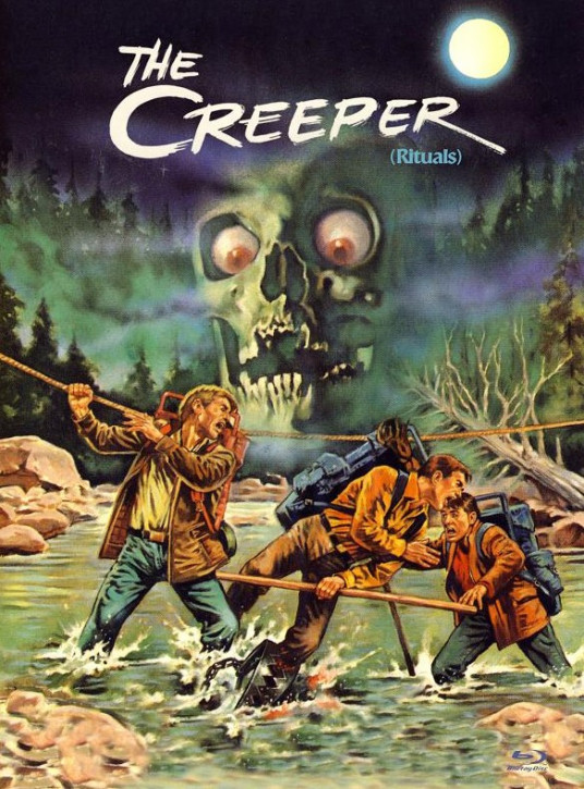 The Creeper (Rituals) - International Cult Collection #06 - Mediabook - Cover A [Blu-ray+DVD]