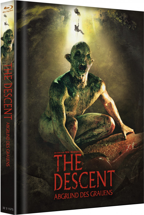 Descent 1 - Limited Mediabook - Cover A [Blu-ray]
