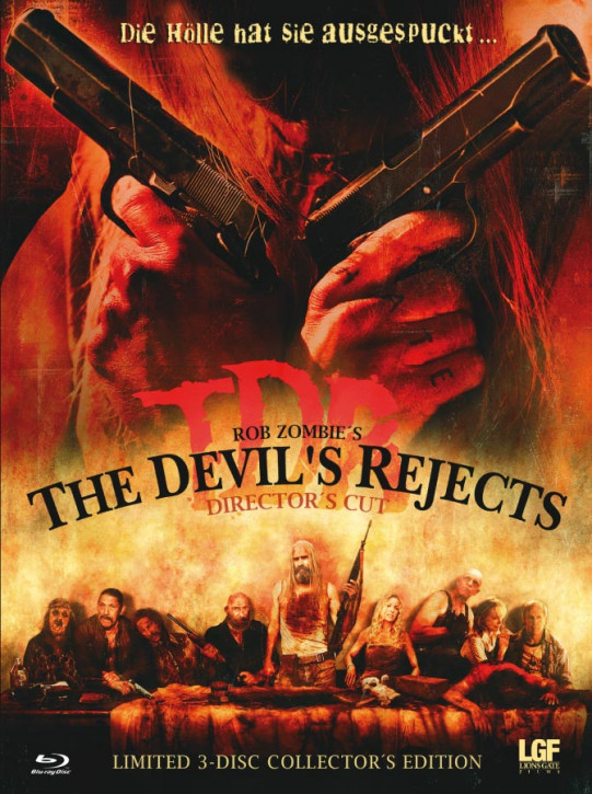 The Devil's Rejects - Limited Collector's Edition - Cover A [Blu-ray+DVD]