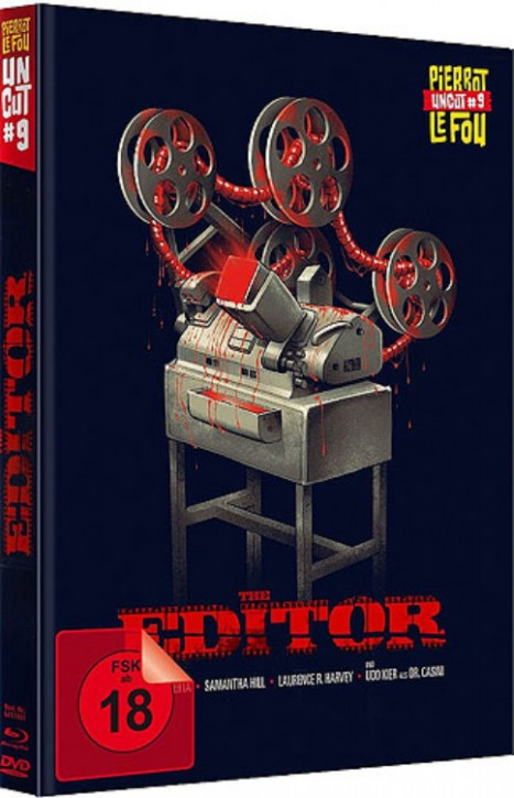 The Editor - Limited Edition Mediabook [Blu-ray+DVD]