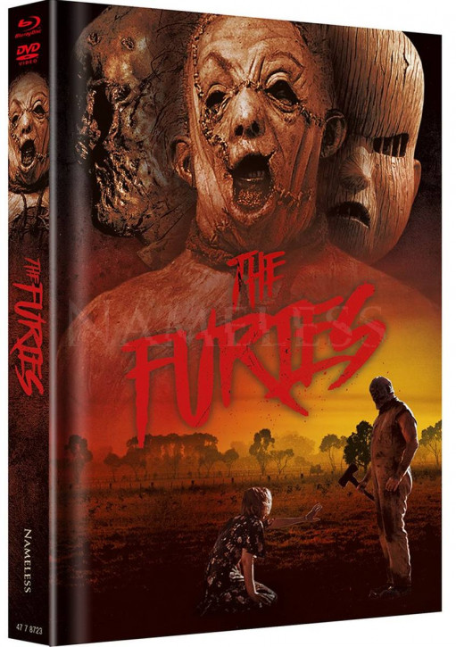 The Furies - Limited Mediabook Edition - Cover B [Blu-ray+DVD]