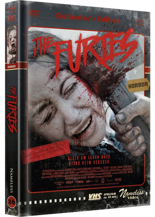 The Furies - Limited Mediabook Edition - Cover D [Blu-ray+DVD]