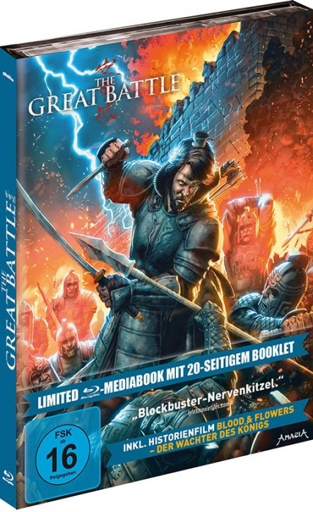 The Great Battle - Limited Mediabook Edition [Blu-ray]