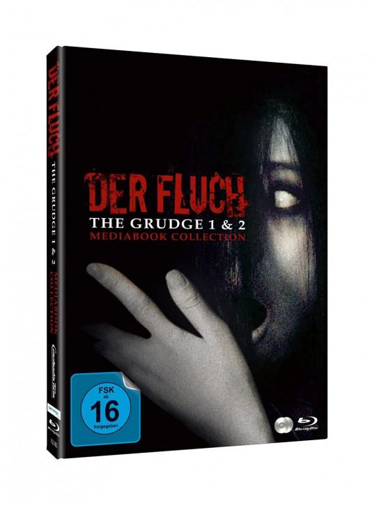 The Grudge - Der Fluch 1 & 2 - Limited Mediabook [Blu-ray+DVD]