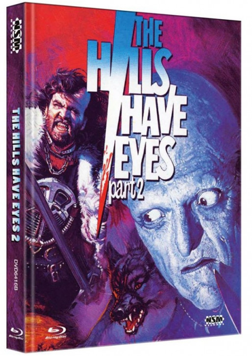 The Hills Have Eyes 2 - Limited Collector's Edition - Cover B [Blu-ray+DVD]