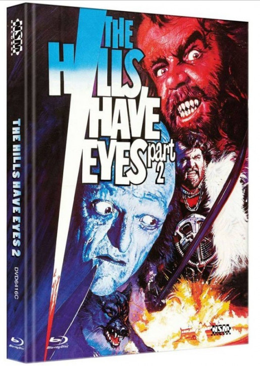 The Hills Have Eyes 2 - Limited Collector's Edition - Cover C [Blu-ray+DVD]