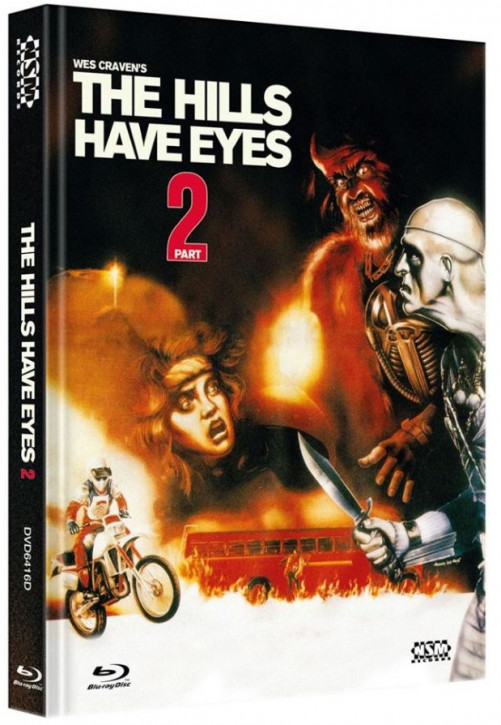 The Hills Have Eyes 2 - Limited Collector's Edition - Cover D [Blu-ray+DVD]