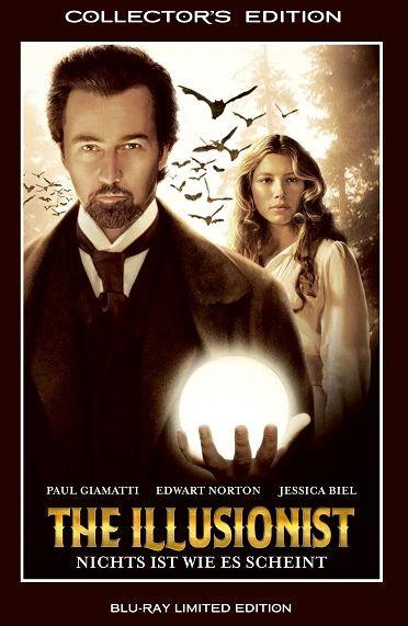 The Illusionist - grosse Hartbox [Blu-ray]