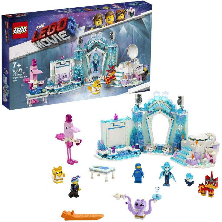 THE LEGO MOVIE 2 70837 - Schimmerndes Glitzer-Spa
