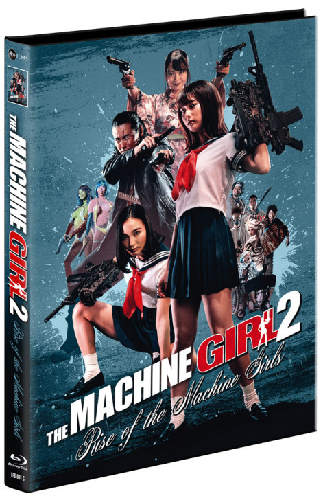 The Machine Girl 2 - Rise of the Machine Girls - Limited Mediabook Edition - Cover C [Blu-ray+DVD]