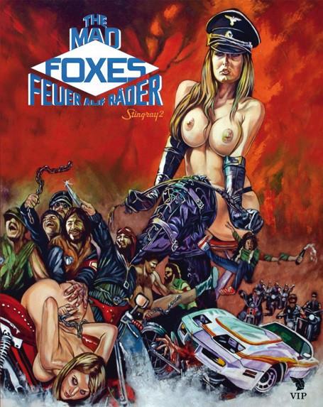 The Mad Foxes - Feuer auf Räder [Blu-ray]