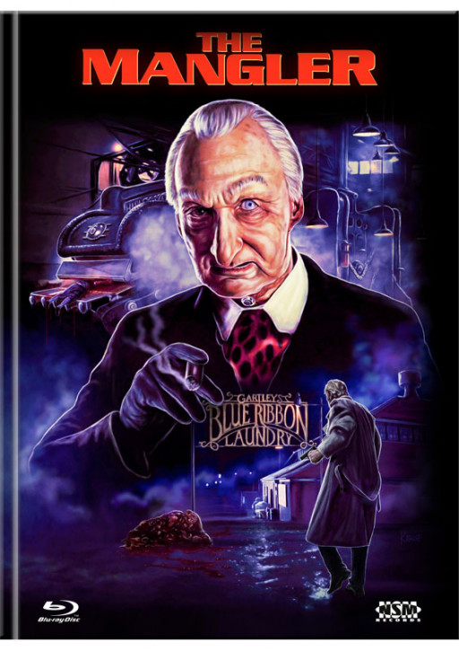 The Mangler - Limited Mediabook Edition - Cover E [Blu-ray+DVD]