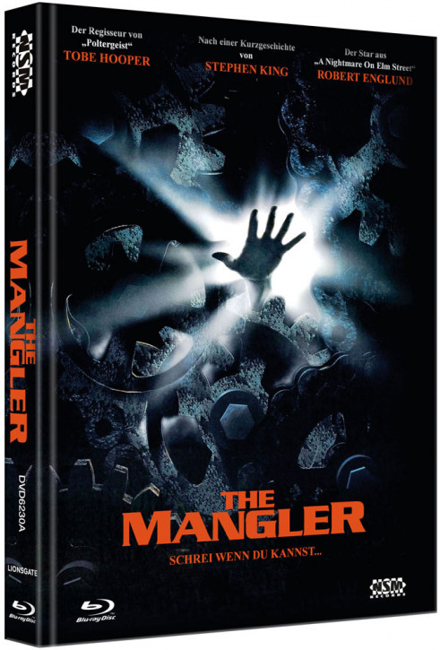 The Mangler - Limited Collector's Edition - Cover A [Bluray+DVD]