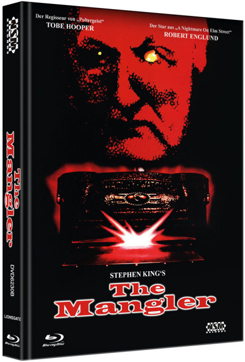 The Mangler - Limited Collector's Edition - Cover B [Bluray+DVD]