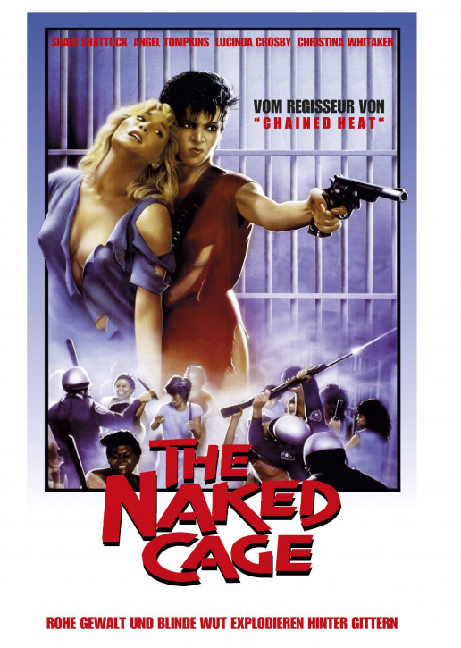The Naked Cage - Limited Mediabook Edition - Cover A [Blu-ray+DVD]