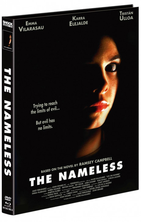 The Nameless - Mediabook - Cover A [Blu-ray+DVD]