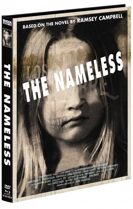 The Nameless - Mediabook - Cover B [Blu-ray+DVD]
