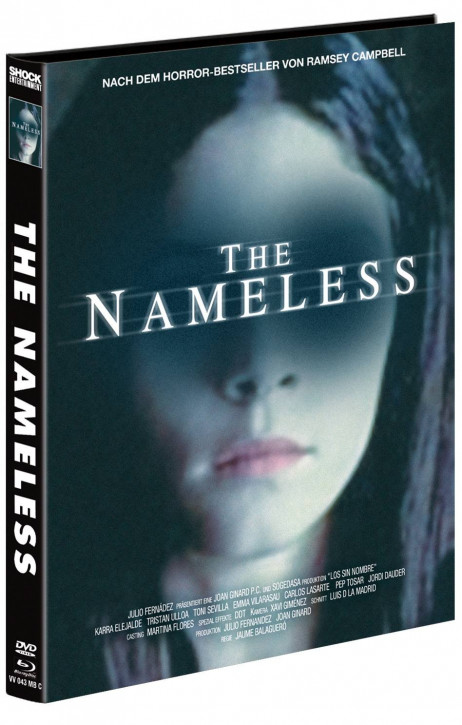 The Nameless - Mediabook - Cover C [Blu-ray+DVD]
