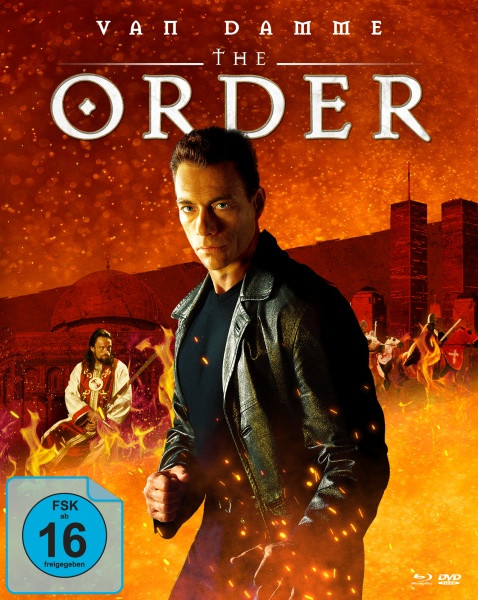 The Order - Limited Mediabook Edition - Cover A [Blu-ray+DVD]