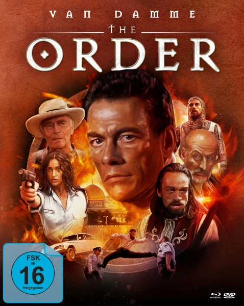 The Order - Limited Mediabook Edition - Cover B [Blu-ray+DVD]