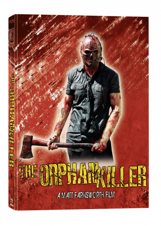 The Orphan Killer - Cover D - Mediabook [Blu-ray]