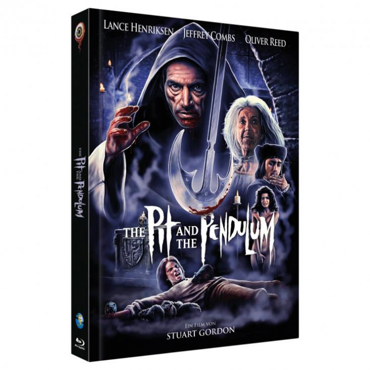 The Pit and the Pendulum - Limited Collectors Edition - Cover B [Blu-ray+DVD]