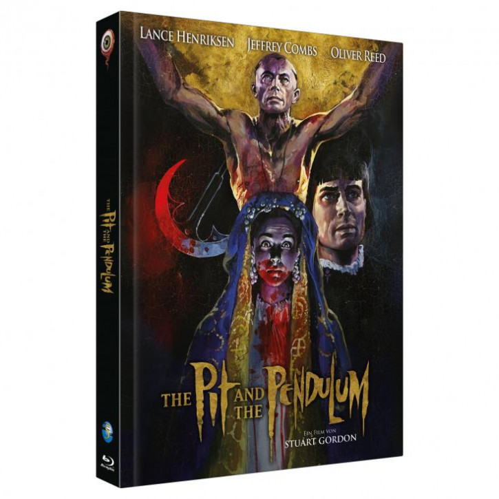 The Pit and the Pendulum - Limited Collectors Edition - Cover C [Blu-ray+DVD]