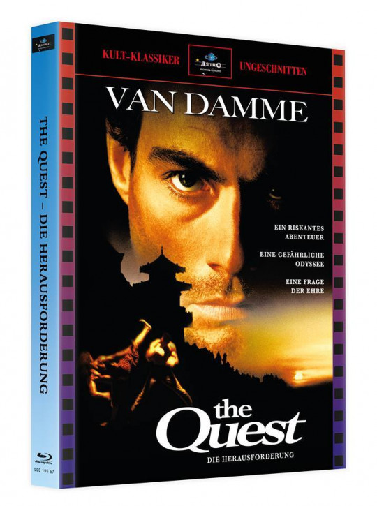 The Quest - Mediabook - Cover A [Blu-ray]