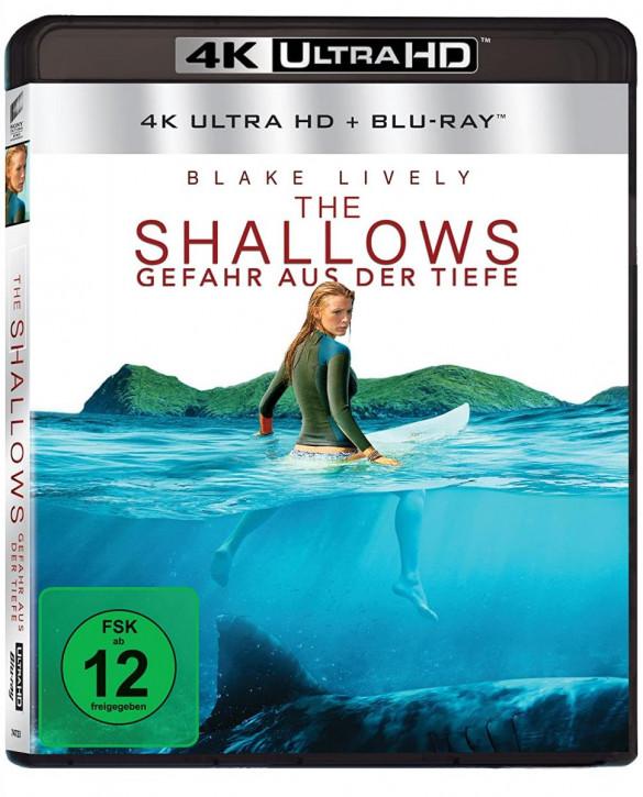 The Shallows - Gefahr aus der Tiefe [4K UHD+Blu-ray]